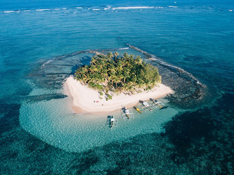 Guyam Island in Siargao