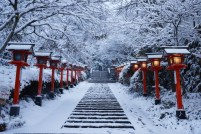 Winter at Kifune Shrine