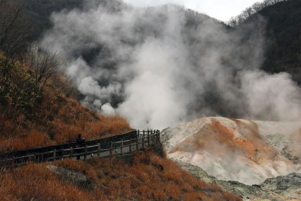 Jigokudani-Hell-valley Hokkaido
