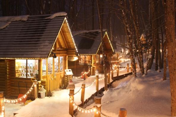 Ningle Terrace night