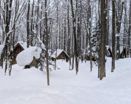 Ningle Terrace winter