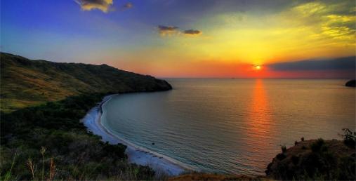 Sunset at Capones Island