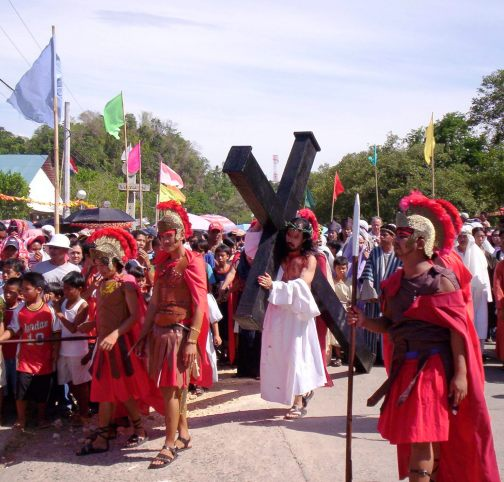 pagtaltal procession