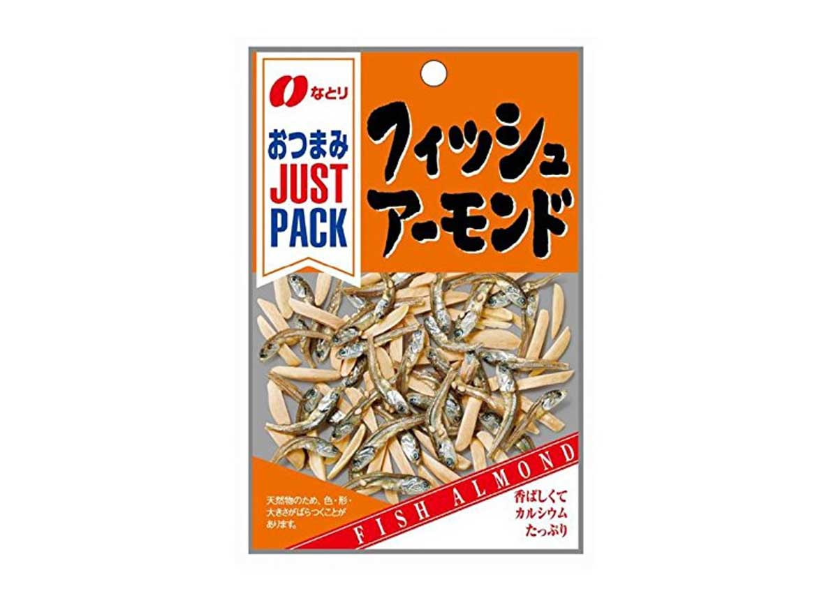 Almonds and Dried Fish