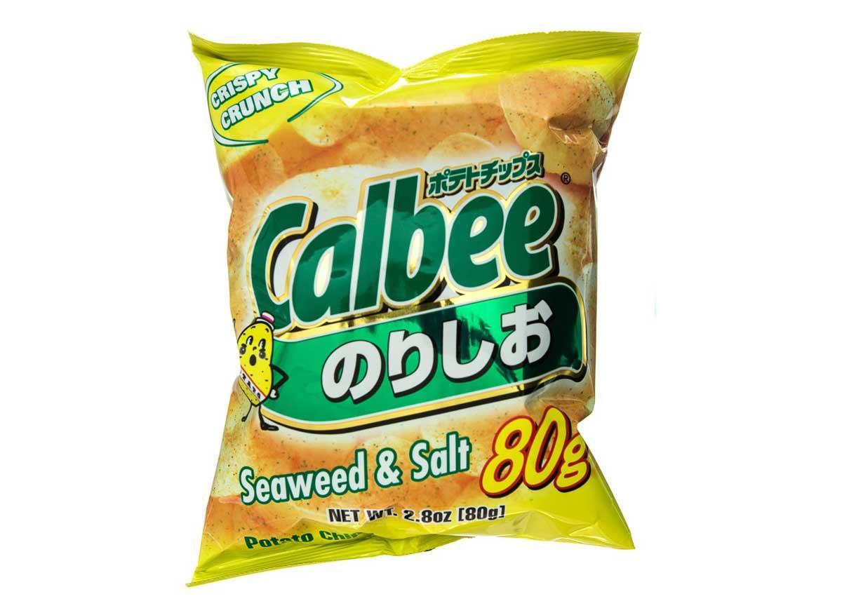 Seaweed Salt Chips